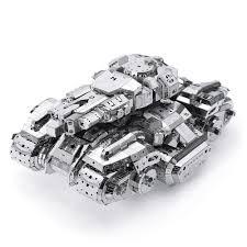 renault f1 tank 3d metal puzzle star craft terran siege tank model sast n01 diy 3d