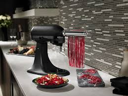 all black kitchenaid mixer popsugar food