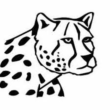 25 free printable leopard coloring pages