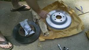 how to change your brakes jeep grand cherokee wk youtube