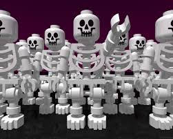 halloween skeleton wallpaper halloween background for lego fans