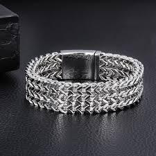 bracelet gold man silver images Trustylan 2017 new brand gold bracelet men jewelry jewellery gift jpg