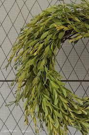 grant easy faux diy boxwood wreath