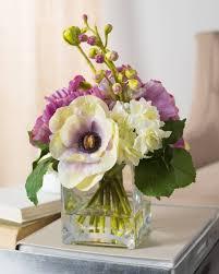 floral arrangement violetta flower arrangement balsam hill