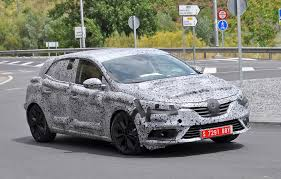 megane renault 2015 renault megane 2015 spied it u0027s the new golf from france by car