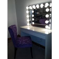 light up makeup table makeup vanity table with lighted mirror visual hunt