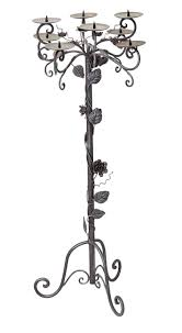 floor standing candle holder to hire candle holders