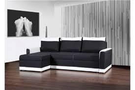 canape angle noir et blanc photos canapé d angle convertible noir et blanc