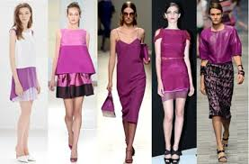 colors that match with purple colour of the year radiant orchid