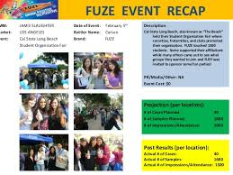 event recap template sle marketing recap