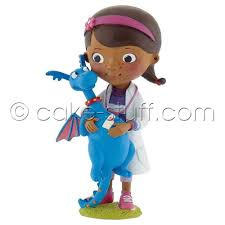 doc mcstuffin cake toppers bullyland doc stuffy disney doc mcstuffins cake topper