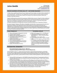 sample software engineer resume software developer free resume