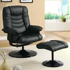 Modern Reclining Chairs 50 Mid Century Modern Recliner With Ottoman Cozy Cafe Brown