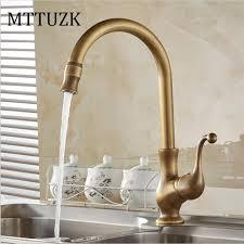 free faucet kitchen mttuzk free shipping brass antique faucet kitchen faucet antique
