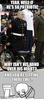 Merica Wheelchair Meme - merica imgflip