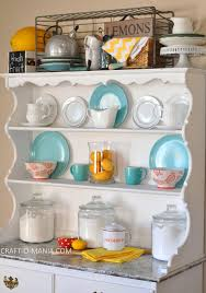 Kitchen Hutch Ideas Summer Hutch Decor Craft O Maniac