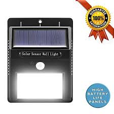 wireless security lights outdoor solar lights outdoor 20 led with motion sensor wall lights deck