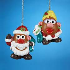 buy club pack of 24 mr and mrs potato ornaments