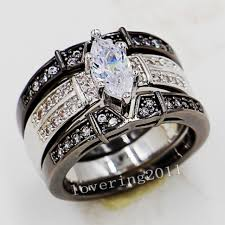 reset wedding ring wedding rings marquise engagement rings with wedding band 1