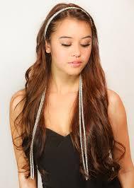 chain headband chain headband rhinestone chain headband womens