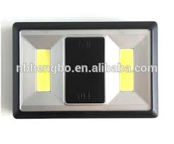 cob led wireless night light with switch wireless cob led closet light magnetic stick on wall bed night torch