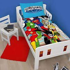 Junior Cot Bed Duvet Set Green Lantern Bedding Ebay