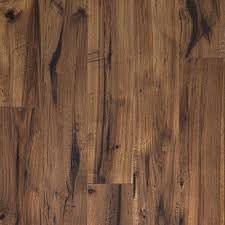 Hand Scraped Laminate Flooring Home Depot Pergo Xp Coffee Handscraped Hickory 10 Mm Thick X 5 1 4 In Wide X
