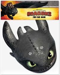 amazon com multipack 6 official how to train your dragon 2 face