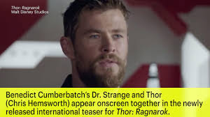 thor trailer doctor strange appears in ragnarok