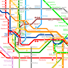 Times Square Map Map Envisions What A Worldwide Subway System Would Be Like