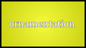 ornamentation meaning
