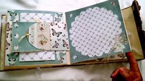 diy scrapbook album album romantico diy scrapbook