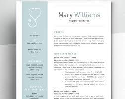 nursing cv template ireland nursing resume etsy