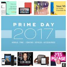 prime day 2017 a complete list of kindle and deals
