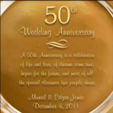 personalized anniversary plates holy union personalized 50th anniversary plate with gold