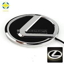 lexus symbol auto led picture more detailed picture about 4d car logo light