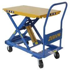 self leveling mobile lift table