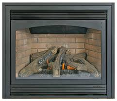Natural Gas Fireplaces Direct Vent by Stove Ember Vision Direct Vent Zero Clearance Gas Fireplace
