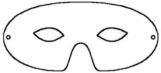 eye mask template mask templates free clip free clip on
