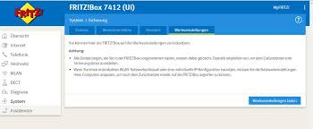 fritz repeater benutzeroberfläche wlan funktion bei fritzbox 7412 aktivieren