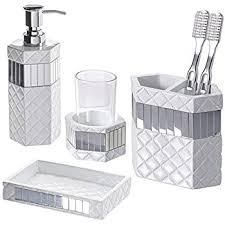 vintage white bathroom accessories 4 bathroom