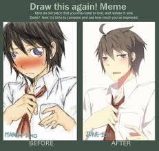 Anime Meme Generator - amazing draw it again meme template animememe 80 skiparty wallpaper