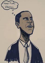 obama cool calm and collected the bottom line