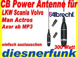 cb radio antenna nina 27 m6 for truck of scania volvo axor actros