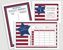 two table progressive tally tally card etsy