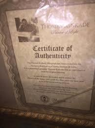 thomas kinkade home interiors finding the value of a thomas kinkade print thriftyfun
