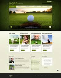golf responsive joomla template 52103
