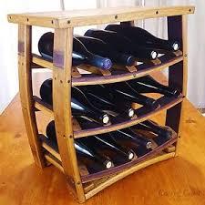 Wine Barrel Home Decor Table Top Wine Barrel Wine Rack Rustic Furniture 12 Bottle