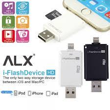 format flashdisk untuk otg i flash ios card reader otg iphone ipad mac usb micro sd 32gb iflash