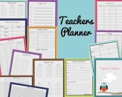 teacher planner etsy